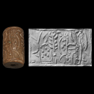 Western Asiatic Cylinder Seal with Motifs