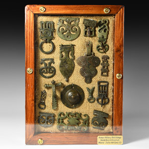 Military Belt Fittings, Buckles and Brooch Collection