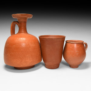 Redware Vessel Group