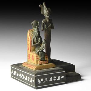 Bronze Statuette Group