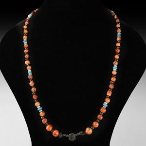 Roman Mixed Bead Necklace