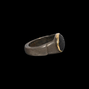 Silver Ring with Warrior Gemstone