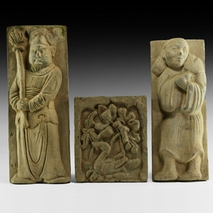 Chinese Song Figural Tile Collection