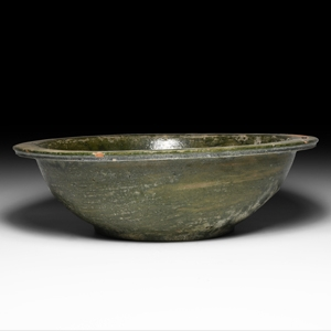 Chinese Han Green Glazed Bowl