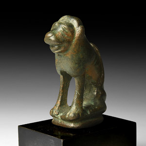 The Greywell Romanesque Lion Statuette