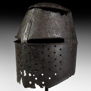 Medieval German Great Helm