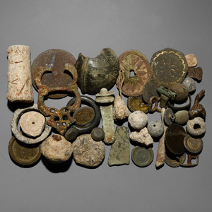 to Post Medieval Artefact Group