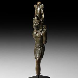 Bronze Sekhmet Statuette