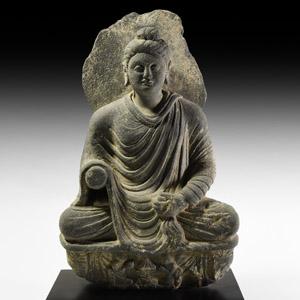 Gandharan Meditating Buddha