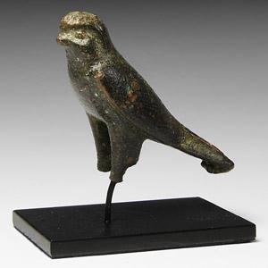 Bronze Horus Hawk