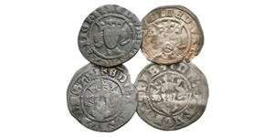English Medieval Coins - Edward I and later - Long Cross Pennies [4]