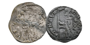 World Coins - Venice - Galley Halfpence Soldini [2]