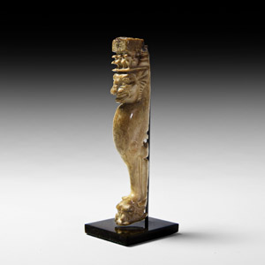 Roman Knife Handle with Lion
