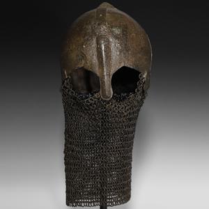 Byzantine Helmet with Aventail