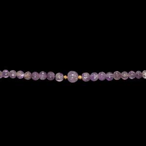 Greek Hellenistic Amethyst Melon Bead Necklace