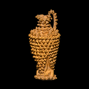 Etruscan Miniature Gold Spouted Jug
