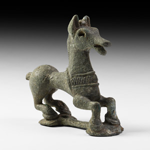 Greek Horse Statuette