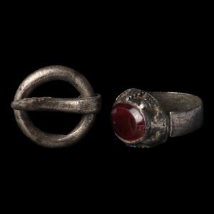 Sassanian Silver Artefact Group