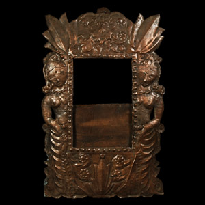 Picture Frame with Figures
