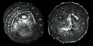 British Celtic Iceni - Early Face/Horse - Unit