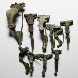 Trumpet Brooch Collection