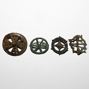 Wheel Brooch Collection
