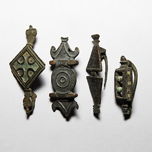 Equal-Armed Brooch Collection
