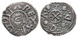 Anglo-Saxon Coins - Offa - Canterbury / Udd - Portrait Penny