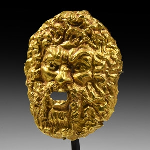 Gold Satyr Mask