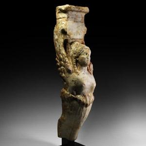 Marble Sphinx Trapezophoros
