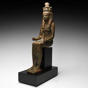 Seated Nehemet-aui Statuette