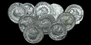 Roman Empire - Ten Silver Antoniniani