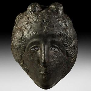 Roman Gorgon Type Cavalry Sports Helmet Mask