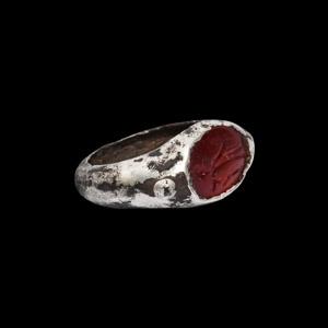 Silver Ring with Eros Gemstone