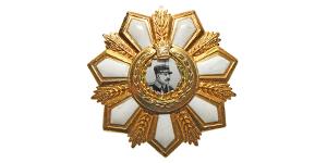 World Civilian Medals - Pahlavi - Reza Shah - Silver-Gilt Order Jewel