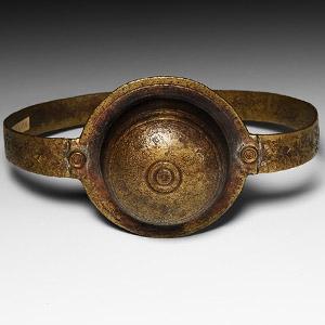 Decorated Bracelet with Secret Compartment