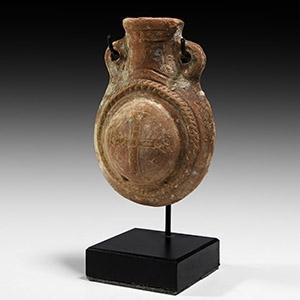 Terracotta Pilgrims Flask