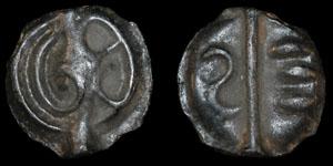 Continental Celtic Alurci Eburovices (?) - Potin