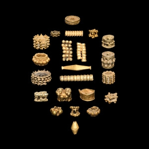 and Other Gold Bead Collection