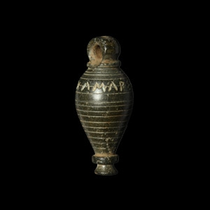 Masons Plumb Weight with Magical Inscription