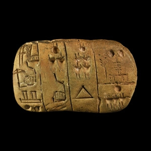 Sumerian Pictographic Tablet