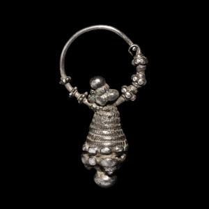 Varangian Silver Earring