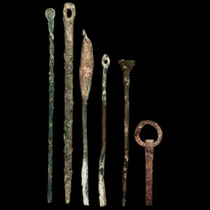 Roman Medical and Writing Tool Collection