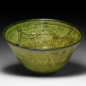 Islamic Green-Glazed Vessel