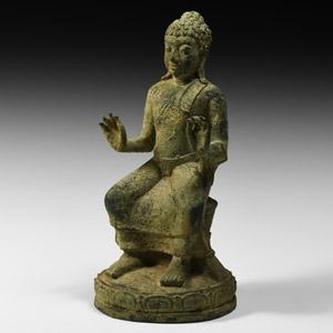 South East Asian Seated Buddha Figure