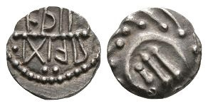 Anglo-Saxon Coins - Primary Phase - Aethelred of Mercia -  Runic Sceatta