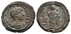 Roman Provincial Coins - Gordian III - Alexandria - Ae Tetradrachm