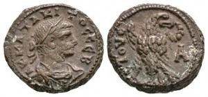 Roman Provincial Coins - Tacitus - Alexandria - AE Tetradrachm
