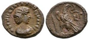 Roman Provincial Coins - Salonina - Alexandria - AE Tetradrachm