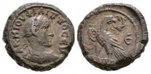 Roman Provincial Coins - Philip I - Alexandria - AE Tetradrachm
